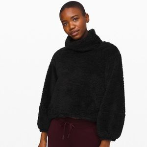 Lululemon Warm Restore Sherpa Pullover M/L